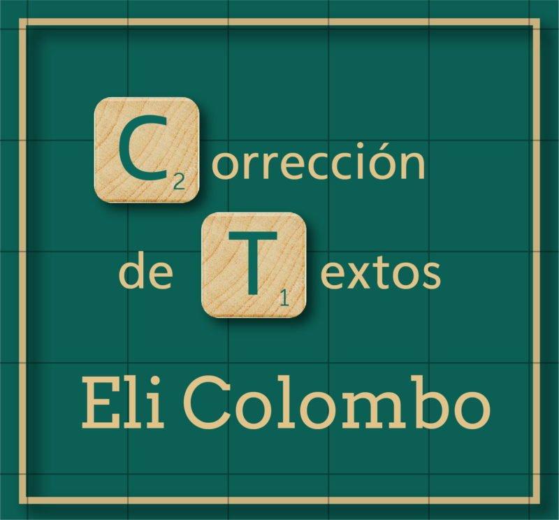 Corrección de Textos – Eli Colombo